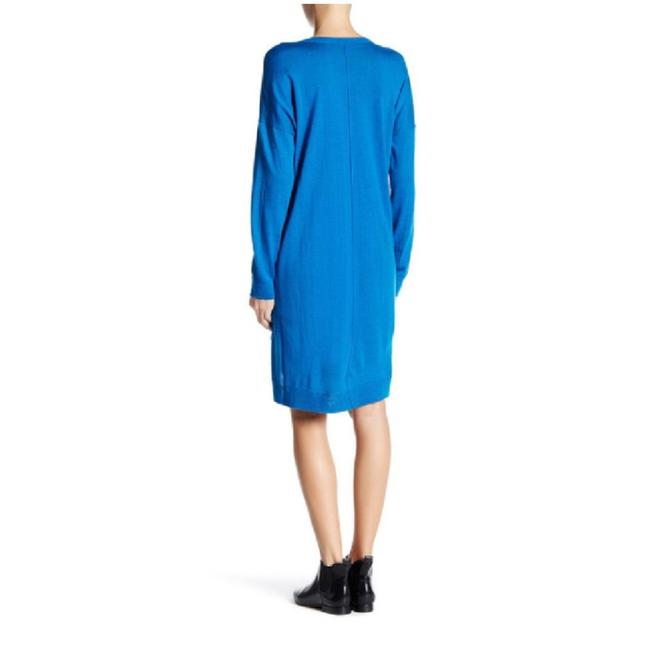 Eileen Fisher short dress blue on Tradesy Image 1