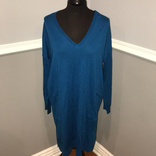 Eileen Fisher short dress blue on Tradesy Image 2