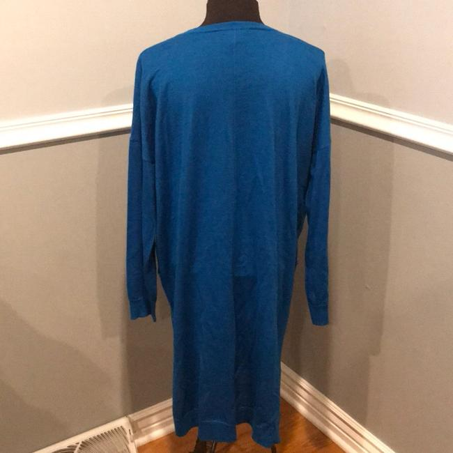 Eileen Fisher short dress blue on Tradesy Image 3