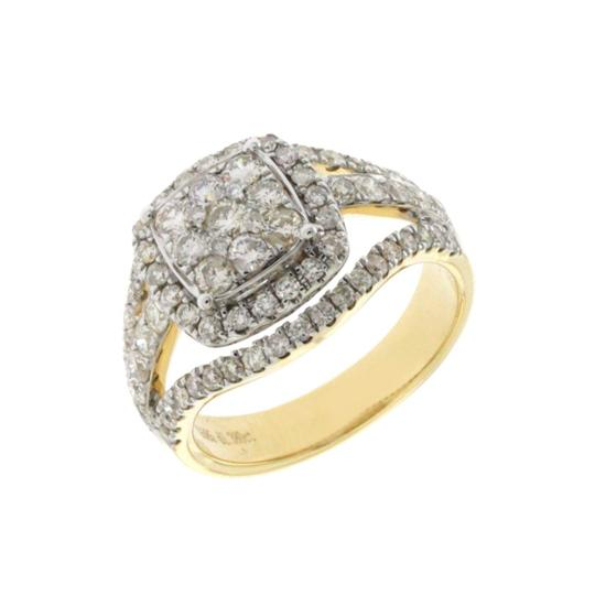 Unknown 1.38 CT Natural Diamonds G SI1 in 14K Yellow Gold Engagement Ring Image 1