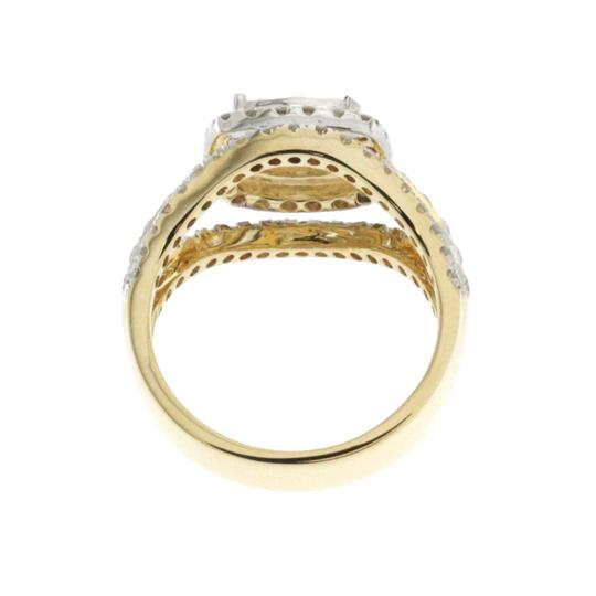 Unknown 1.38 CT Natural Diamonds G SI1 in 14K Yellow Gold Engagement Ring Image 2