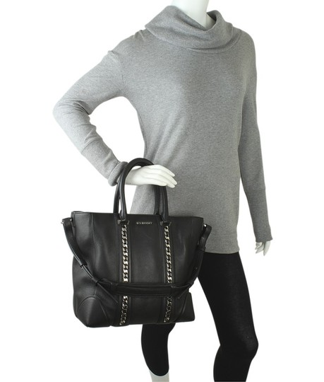 Givenchy Leather Satchel in Black Image 1