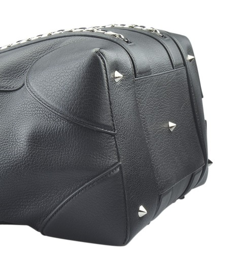 Givenchy Leather Satchel in Black Image 6