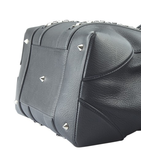 Givenchy Leather Satchel in Black Image 7