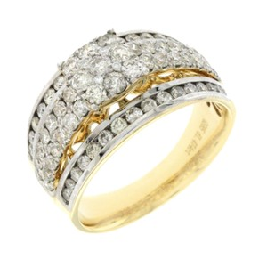 Unknown 1.47 CT Natural Diamonds G SI1 in 14K Yellow Gold Engagement Ring