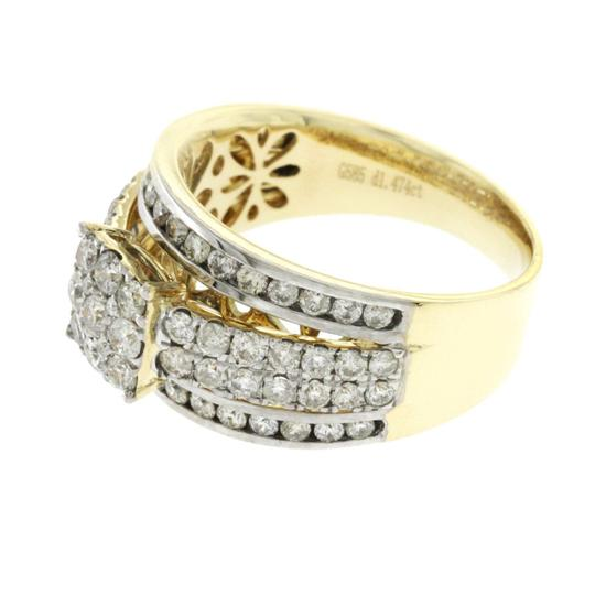 Unknown 1.47 CT Natural Diamonds G SI1 in 14K Yellow Gold Engagement Ring Image 2
