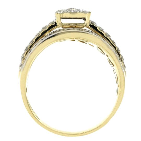 Unknown 1.47 CT Natural Diamonds G SI1 in 14K Yellow Gold Engagement Ring Image 3