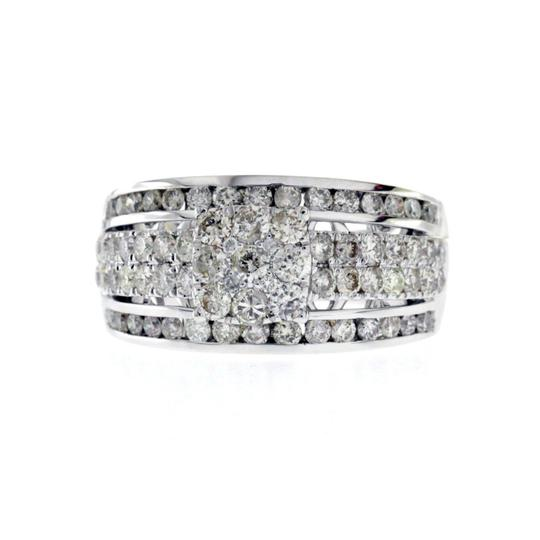 Unknown 1.44 CT Natural Diamonds G SI1 in 14K White Gold Engagement Ring Image 4
