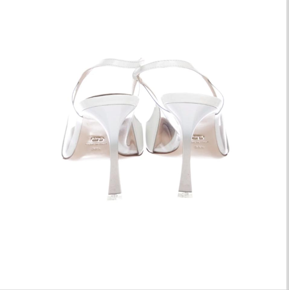 bda5c18ae0c Dior White Christian Songe Slingback Pumps Size EU 38.5 (Approx. US 8.5)  Regular (M