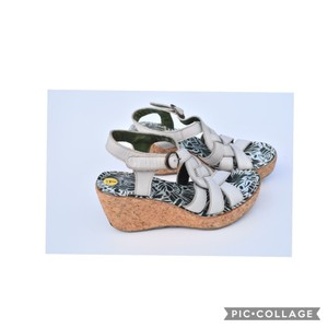 FLY London white Wedges
