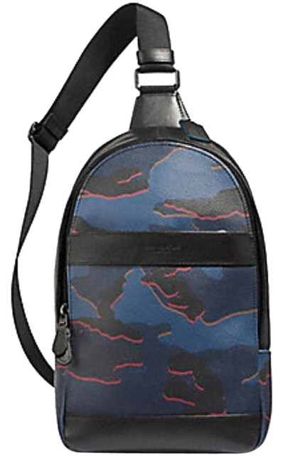 Item - Camo Blue Canvas Backpack