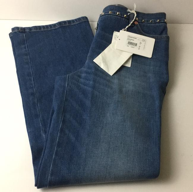 Valentino Boot Cut Jeans-Distressed Image 1