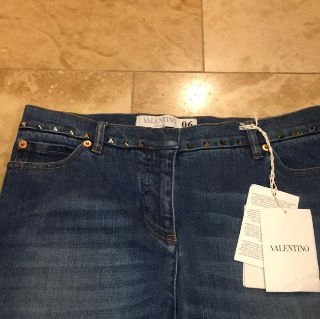 Valentino Boot Cut Jeans-Distressed Image 5