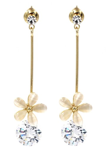 Preload https://img-static.tradesy.com/item/24397166/gold-pendant-flower-crystal-earrings-0-0-540-540.jpg