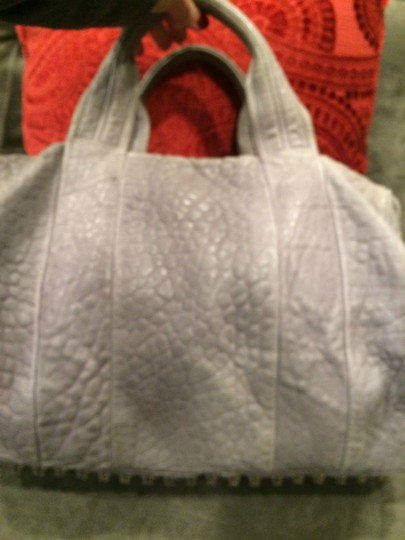 Alexander Wang Rockie Rocco Studded Crossbody Tote in Grey Image 3