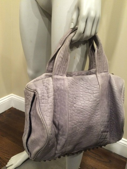 Alexander Wang Rockie Rocco Studded Crossbody Tote in Grey Image 4