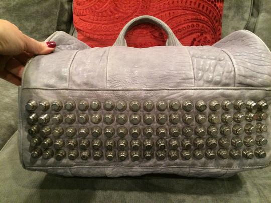 Alexander Wang Rockie Rocco Studded Crossbody Tote in Grey Image 6