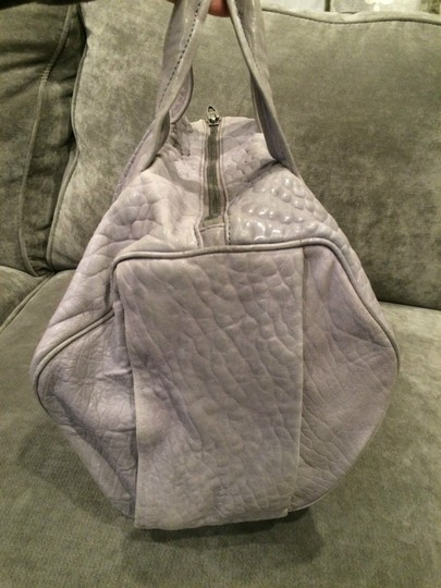 Alexander Wang Rockie Rocco Studded Crossbody Tote in Grey Image 9