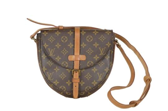 Louis Vuitton Cartouchiere Monogram Cross Body Bag Image 0