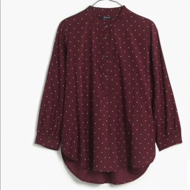 Madewell Top Red Image 3