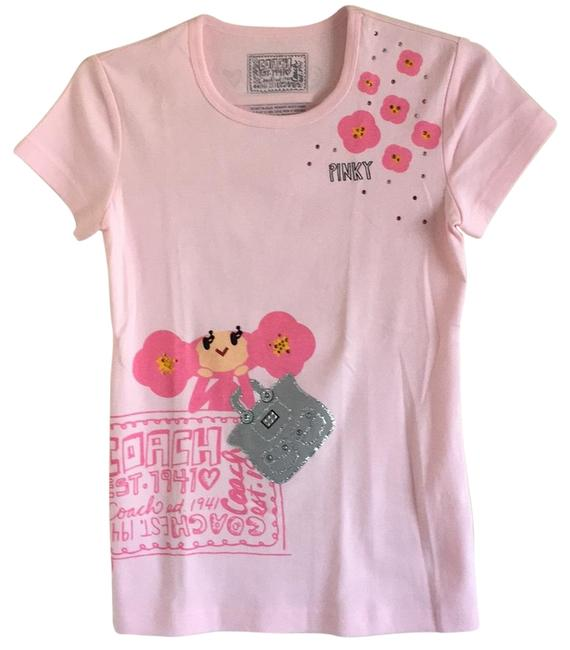 Coach 1941 Est. Poppy Limited Edition T Shirt Pink Image 0