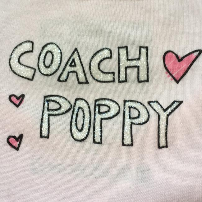 Coach 1941 Est. Poppy Limited Edition T Shirt Pink Image 3