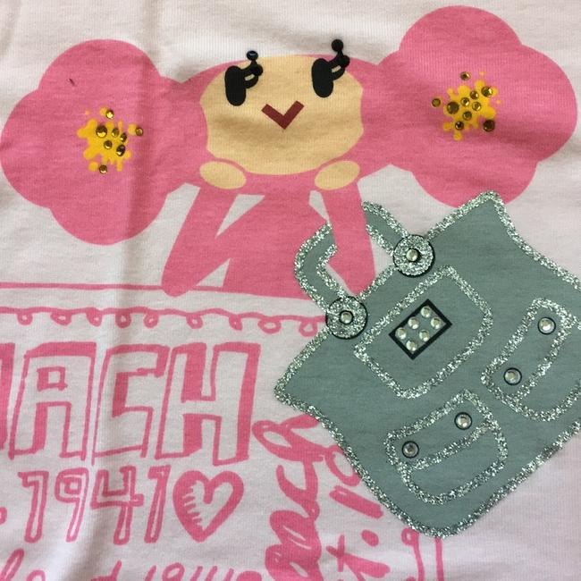 Coach 1941 Est. Poppy Limited Edition T Shirt Pink Image 4