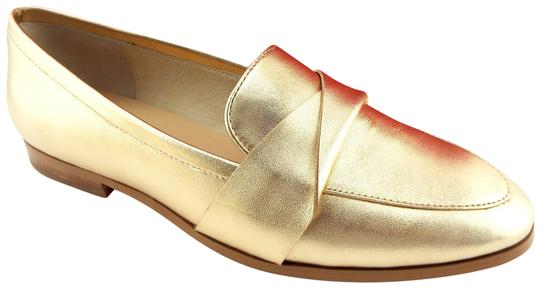 Preload https://img-static.tradesy.com/item/24397466/kate-spade-gold-metallic-leather-slip-on-loafer-flats-size-us-7-regular-m-b-0-3-540-540.jpg