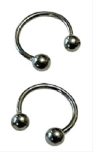 unknown Set of 2 Horseshoe Barbell Rings