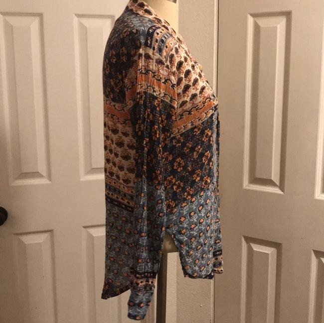 Free People Button Down Shirt multi Image 2