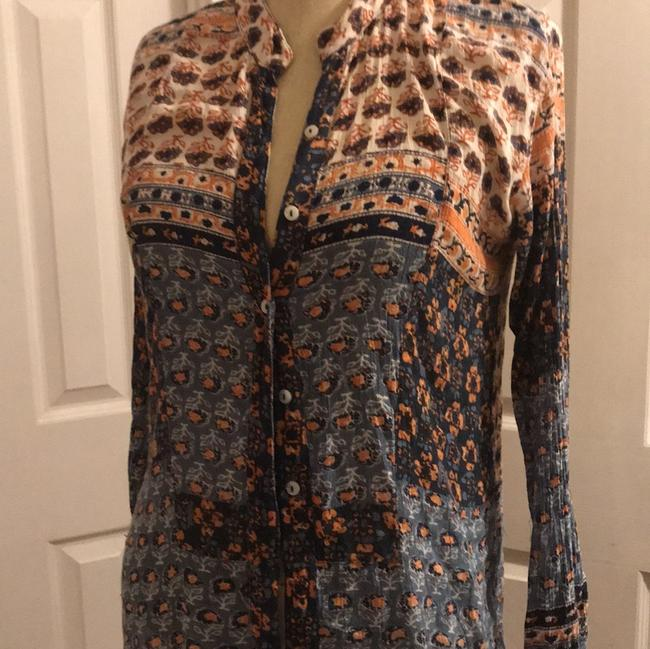 Free People Button Down Shirt multi Image 6