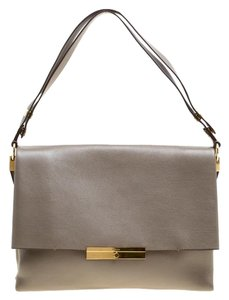 Céline Leather Suede Shoulder Bag