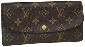 Louis Vuitton Louis Vuitton Monogram Emilie Wallet with Box