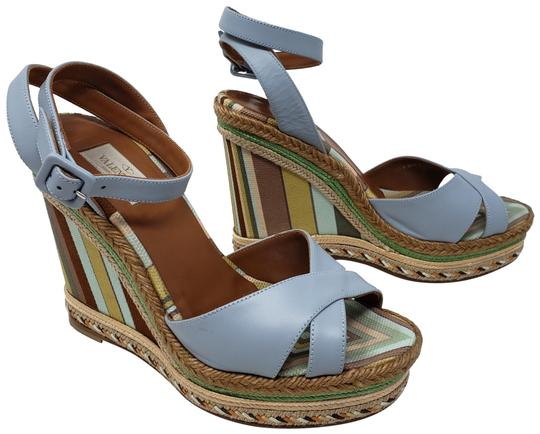 Preload https://img-static.tradesy.com/item/24397661/valentino-multicolor-pale-blue-leather-striped-espadrille-wedges-size-eu-39-approx-us-9-regular-m-b-0-2-540-540.jpg