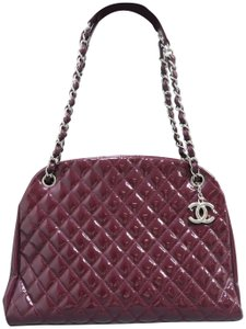 Chanel Mademoiselle Bowler Vernis Large Shoulder Bag