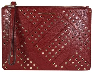 Michael Kors Leather 192317763911 Mulberry Clutch