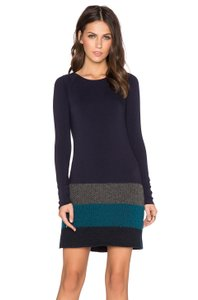 Bailey 44 Bailey 44 Women's Blue Edie Sweater Dress Wool Cotton New S