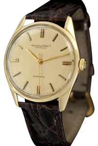IWC 1964 IWC Vintage Full Size Mens Watch, Cal. 854 Automatic - 18K Gold
