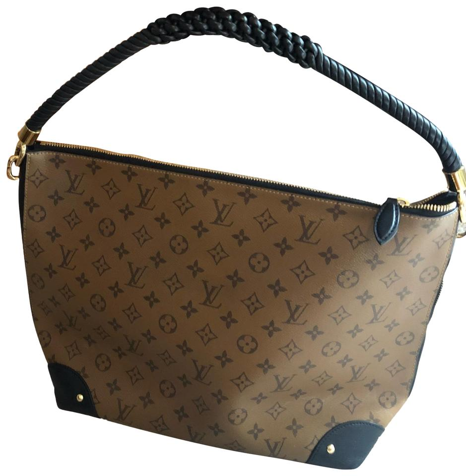 7c890c1d437 Louis Vuitton Triangle Softy Reverse Monogram Canvas and Leather ...