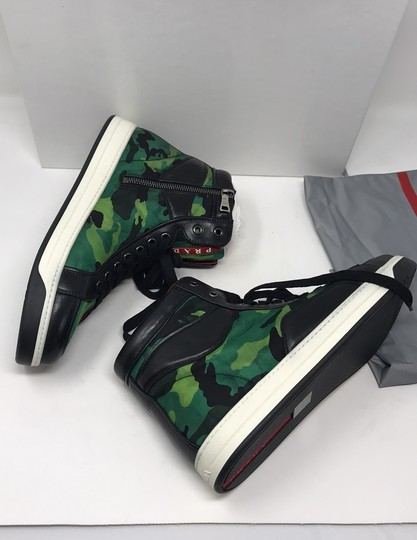 Prada green black Athletic Image 11