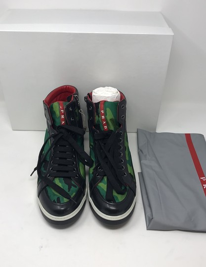 Prada green black Athletic Image 2