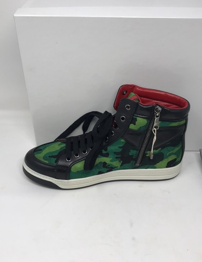 Prada green black Athletic Image 3