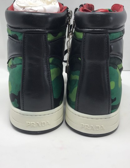 Prada green black Athletic Image 4