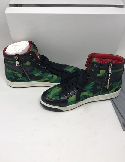 Prada green black Athletic Image 5