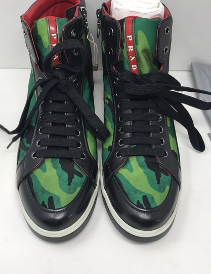 Prada green black Athletic Image 7