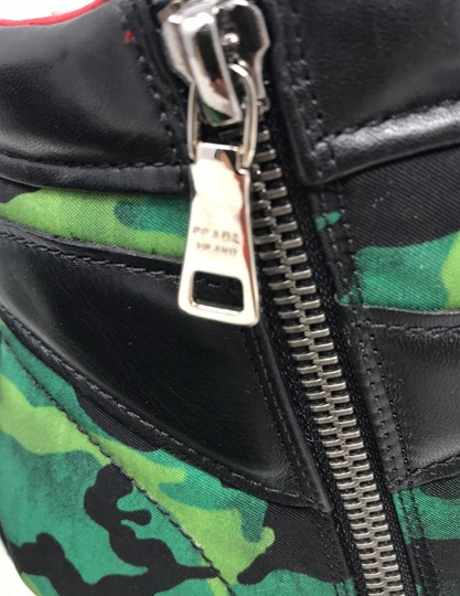 Prada green black Athletic Image 9