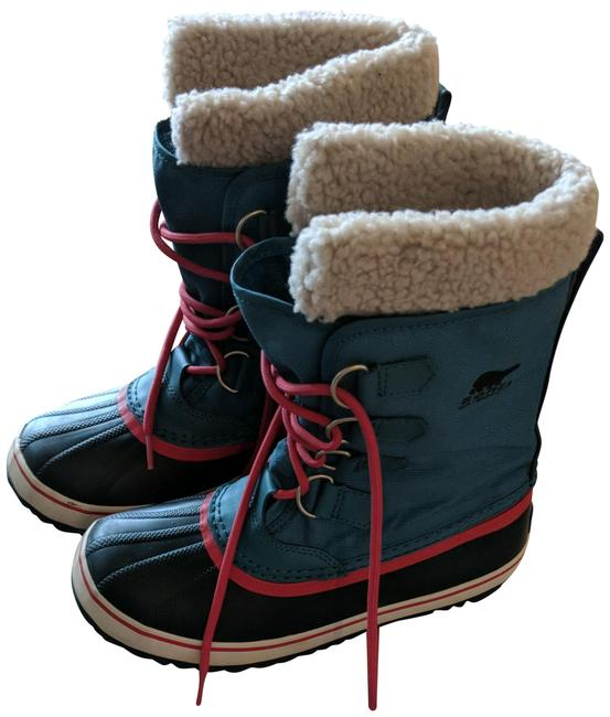 Item - Teal Winter Carnival Boots/Booties Size US 7 Regular (M, B)