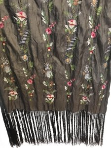 Isabel Marant Embroidered silk wrap