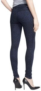 Mother Stretchy Print Skinny Jeans