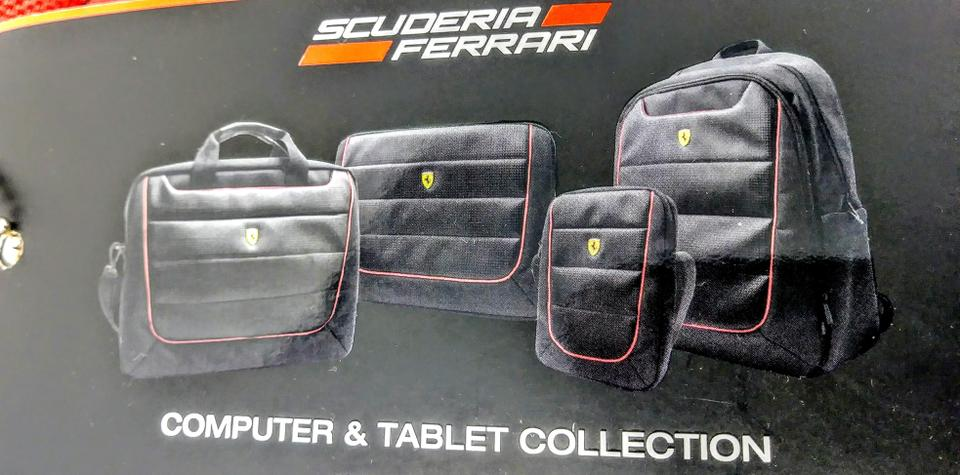 Ferrari Water-resistant High Quality Nylon Polyester Laptop Bag. 1234 48420ad9f1bbb